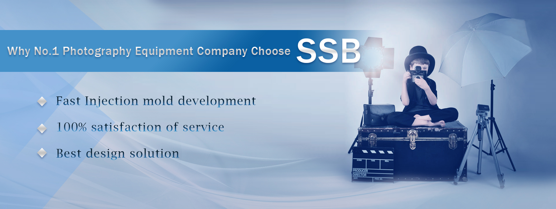 Photography Equipment Company Choose SSB